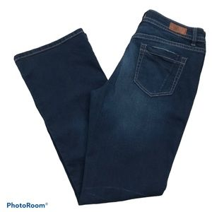 Denver Hayes Mia Bootcut Dark Wash Blue Jeans, DH